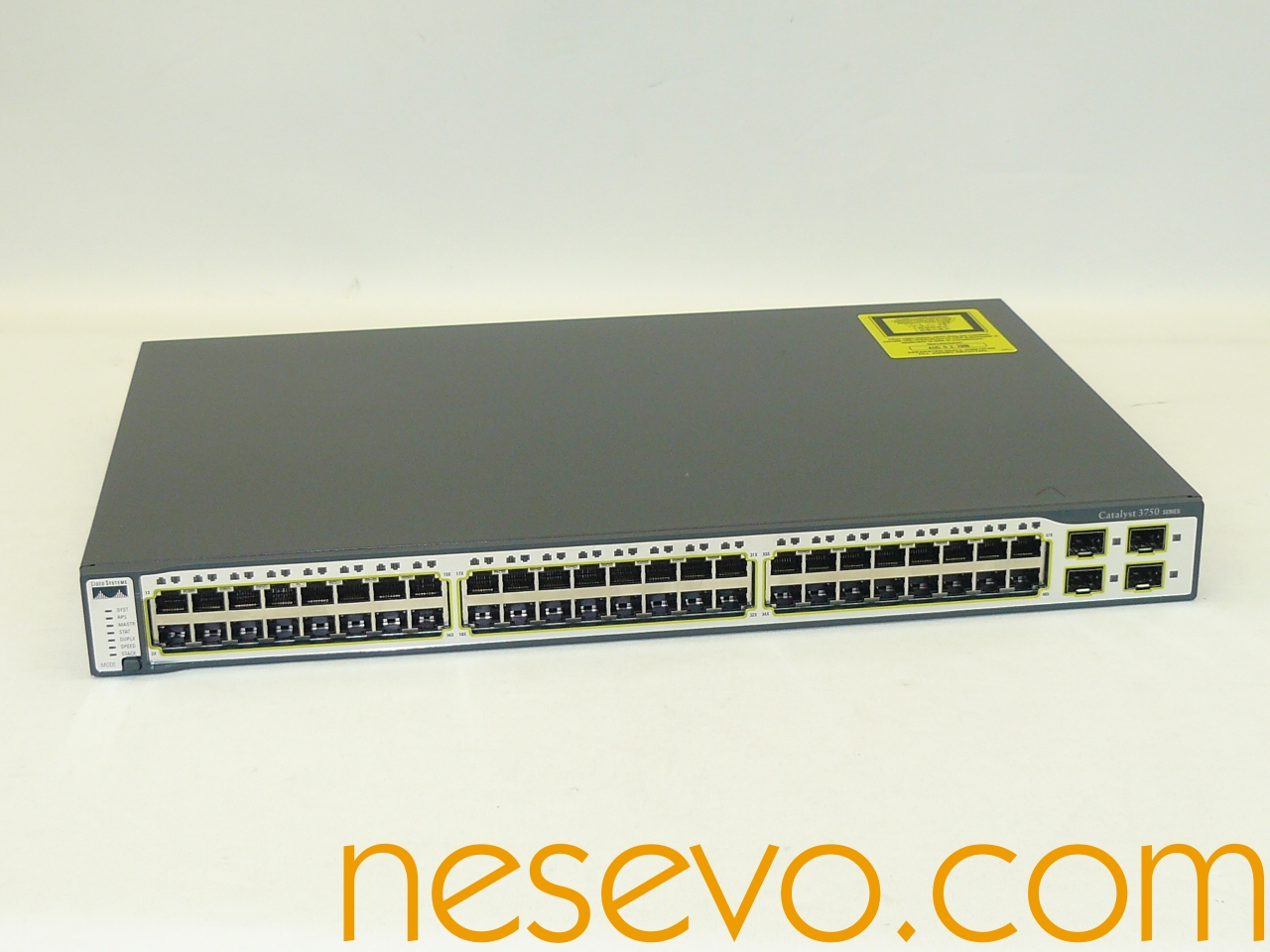 Index Of Ebay Pics Cisco Ciscocatalyst Switch Wsc296024ttl Ws C3750 48 Ts S Front